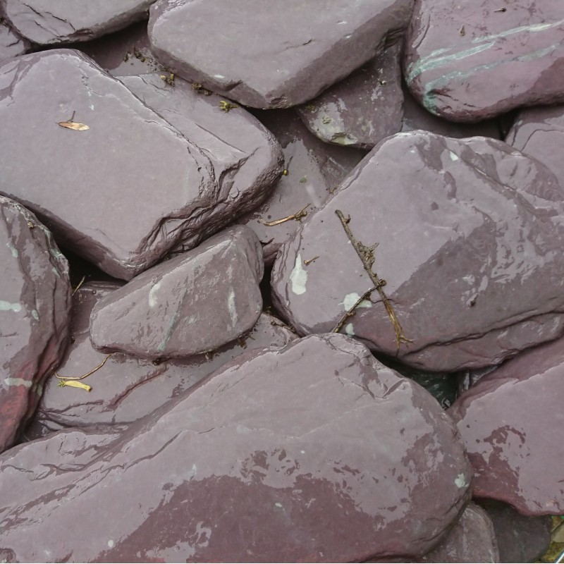 200-300mm Welsh Slate Paddle/Stepping Stones