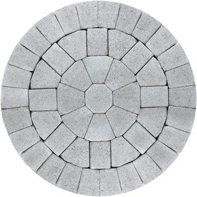 Barleystone Paving Circle Kit Birch