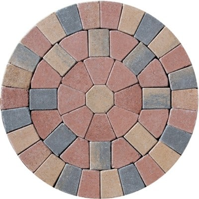 Barleystone Paving Circle Kit Maple