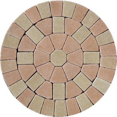 Barleystone Paving Circle Kit Oak