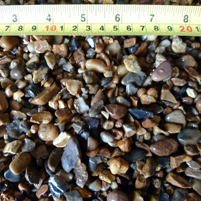 10mm Natural Rounded Golden Pebbles