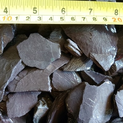 40mm Plum Slate - Loose