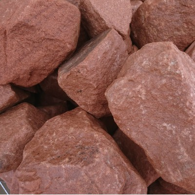 300-400mm Red Sandstone Rockery