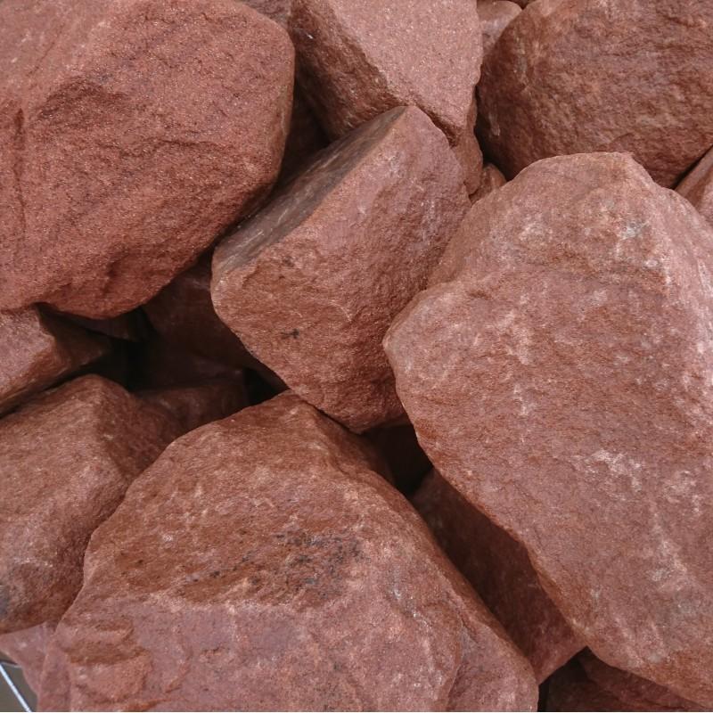 300-400mm Red Sandstone Rockery