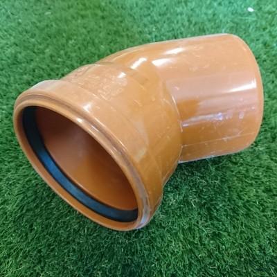 110mm 45° Single Socket Bend