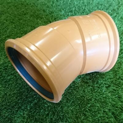 110mm 30° Double Socket Bend