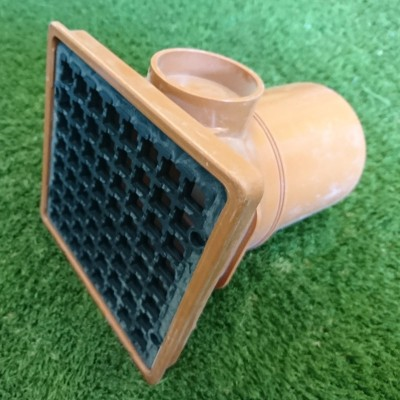 110mm Square Hopper Spigot End