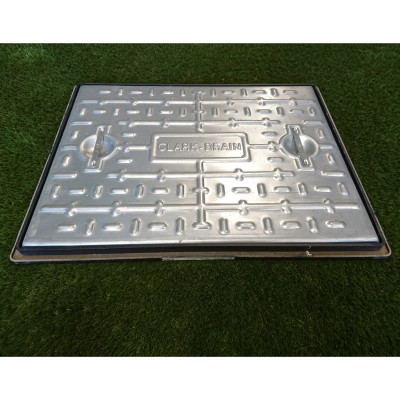 600x450mm 10 Tonne Manhole Cover & Frame