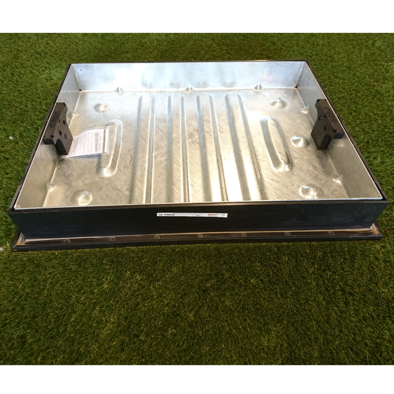 600x450x80mm Recess Cover & Frame