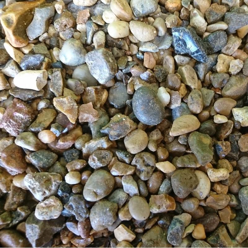 Golden Corn 20mm Angular Pebbles - Bagged